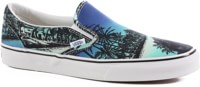 Vans Classic Slip-On Skate Shoes - (van doren) hoffman/blue