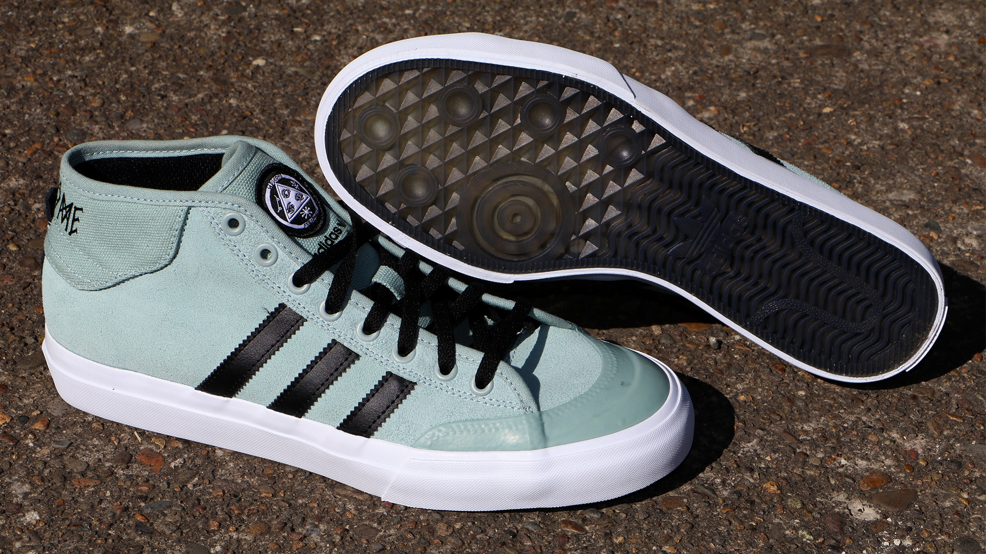 info for e54ab b67af Adidas x Welcome Matchcourt Mid Skate Shoes