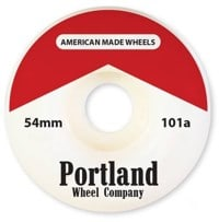 Portland Wheel Company The Reds Skateboard Wheels - white (101a)