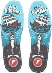 Footprint King Foam Gold Hi-Profile Insole - dane burman atlas