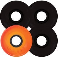 OJ III Hot Juice Skateboard Wheels - 3 black 1 orange (78a)