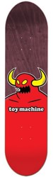 Toy Machine Monster 8.5 Skateboard Deck - maroon