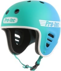 ProTec Full Cut Skate Helmet - teal/blue fade