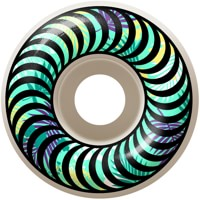 Spitfire Classic Skateboard Wheels - white/floral (99d)