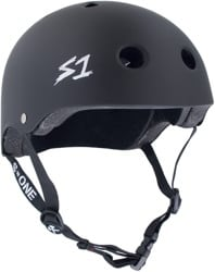 S-One Lifer Dual Certified Multi-Impact Skate Helmet - black matte