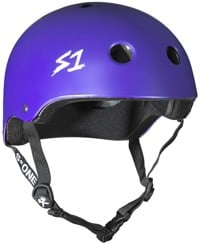 S-One Lifer Dual Certified Multi-Impact Skate Helmet - purple matte