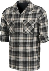 Pendleton Fitted Board Shirt Flannel - grey beach boy