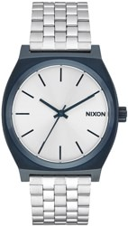 Nixon Time Teller Watch - navy/silver