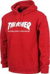 Thrasher Skate Mag Hoodie - antique red