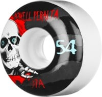 Powell Peralta Ripper Skateboard Wheels - white ii (97a)