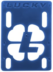 Lucky Skateboard Riser Set - blue