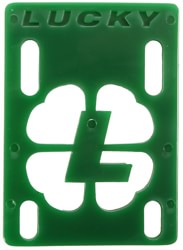 Lucky Skateboard Riser Set - green