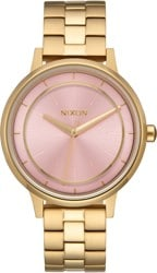 Nixon Kensington Watch - light gold/pink