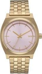 Nixon Time Teller Watch - light gold/pink