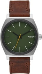 Nixon Time Teller Watch - surplus/brown