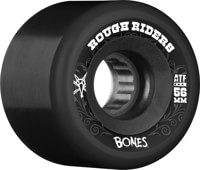 Bones ATF Rough Riders Skateboard Wheels - black (80a)
