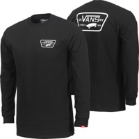 Vans Full Patch Back L/S T-Shirt - black