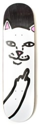 Rip N Dip Lord Nermal 8.5 Skateboard Deck - black