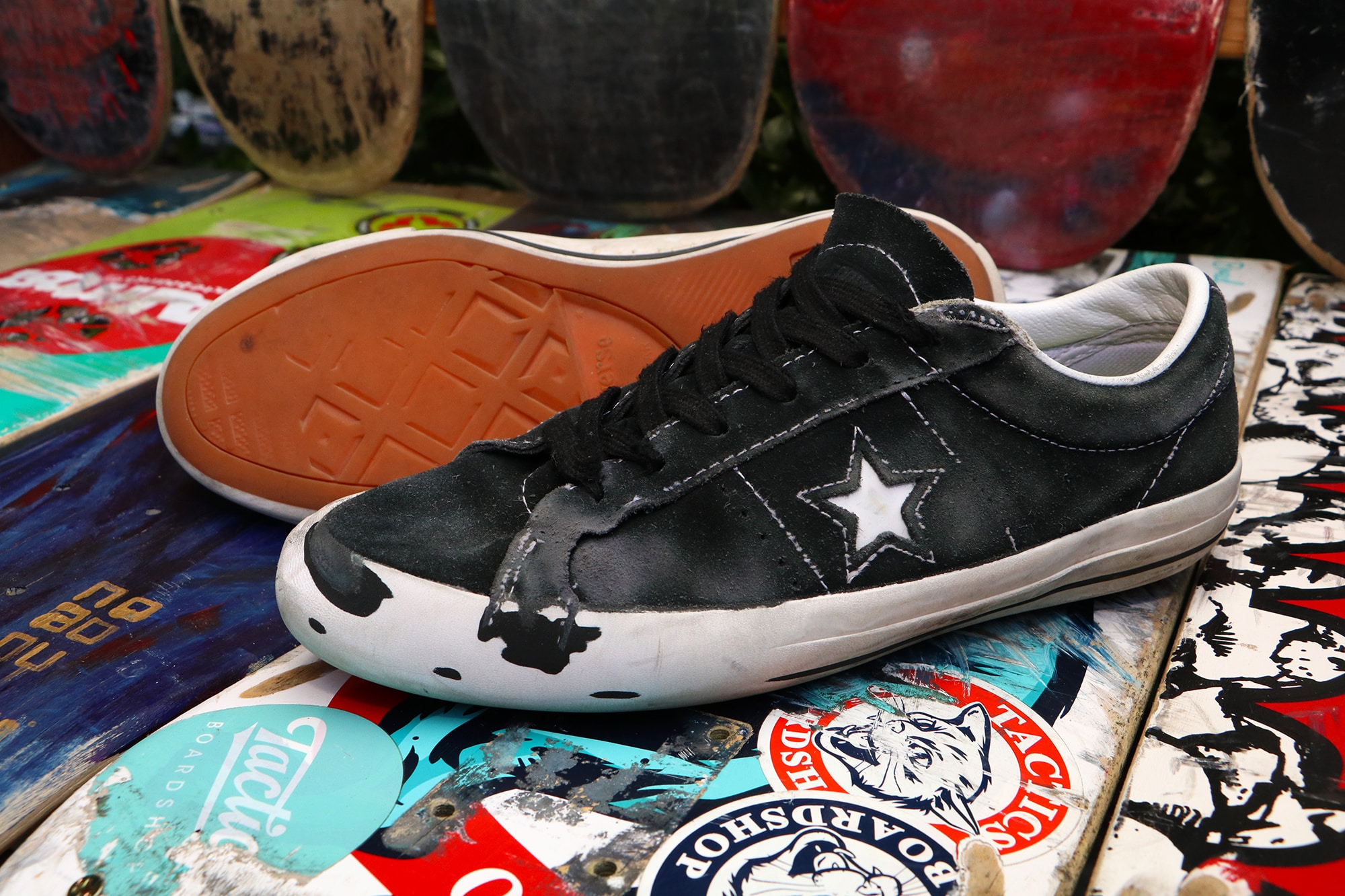 colonia Porque Razón  Converse One Star Pro Skate Shoes Wear Test Review | Tactics