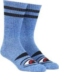 Toy Machine Sect Eye III Crew Sock - heather blue
