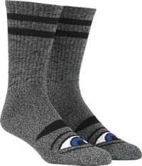 Toy Machine Sect Eye III Crew Sock - heather grey