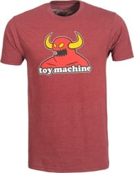 Toy Machine Monster T-Shirt - heather burgundy