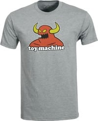 Toy Machine Monster T-Shirt - heather grey