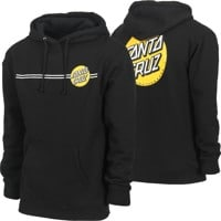 Santa Cruz Other Dot Hoodie - black w/ gold