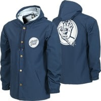 Independent Capital Hooded Windbreaker - navy