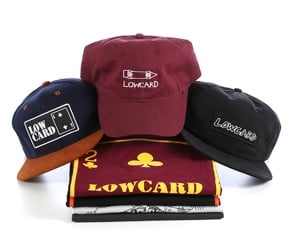 New Lowcard Apparel - It's A Safe Bet, So Go All In.