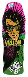 Vision Pyscho Stick 10.0 Skateboard Deck - green