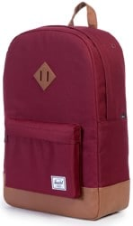 Herschel Supply Heritage Backpack - windsor wine/tan