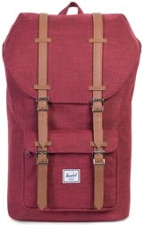 Herschel Supply Little America Backpack - winetasting crosshatch/tan