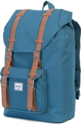 Herschel Supply Little America Mid Volume Backpack - indian teal/tan