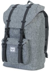 Herschel Supply Little America Mid Volume Backpack - scattered raven crosshatch/black