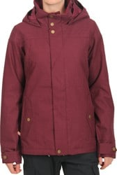 Burton Women's Jet Set Jacket 2017 - sangria