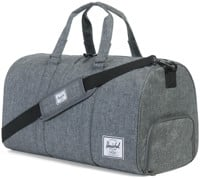 Herschel Supply Novel Duffle Bag - raven crosshatch