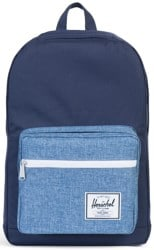 Herschel Supply Pop Quiz Backpack - peacoat/limoges crosshatch