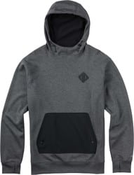 Burton Hemlock Bonded Hoodie - true black heather
