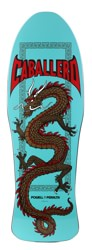 Powell Peralta Caballero Chinese Dragon 10.0 Skateboard Deck - turquoise