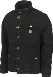 Roark Axeman Sherpa Lined Jacket - black