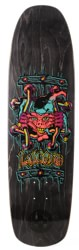 Black Label Emergency Lucero X2 8.88 Skateboard Deck - black