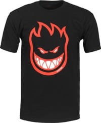 Spitfire Bighead Fill T-Shirt - black/red