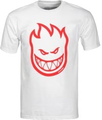 Spitfire Bighead T-Shirt - white/red print