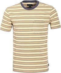 Brixton Hilt Pocket T-Shirt - tan/bronze