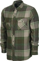 Brixton Bowery Flannel - forest green