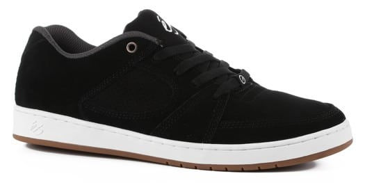 eS Accel Slim Skate Shoes - black/white - view large