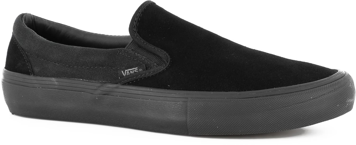 Vans Slip-On Pro Shoes - blackout - Free Shipping