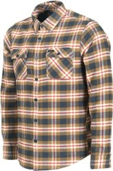 RVCA That'll Work Flannel - bark