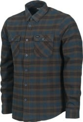 RVCA That'll Work Flannel - carbon